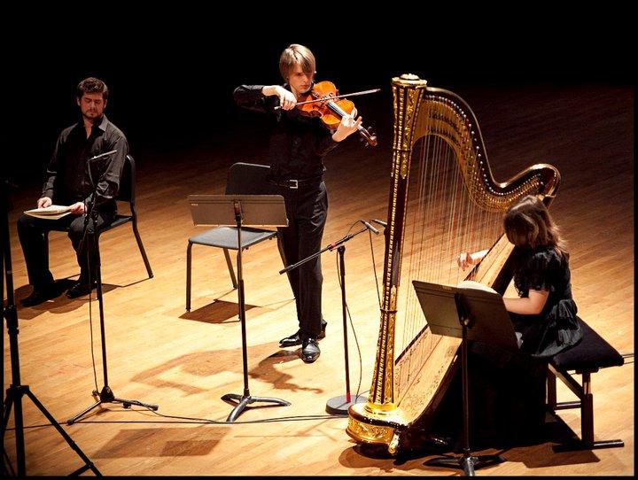Benjamin Beck Winterreise Viola Alto Bratsche Schubert Harp Pauline Haas Maxime Pacaud